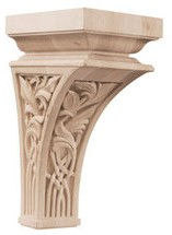 how to install decorative wood corbels & wooden brackets