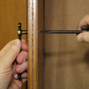 Tools for Aligning Holes for Cabinet Pulls