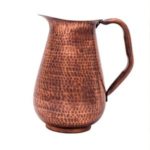 Copper accessories pitcher