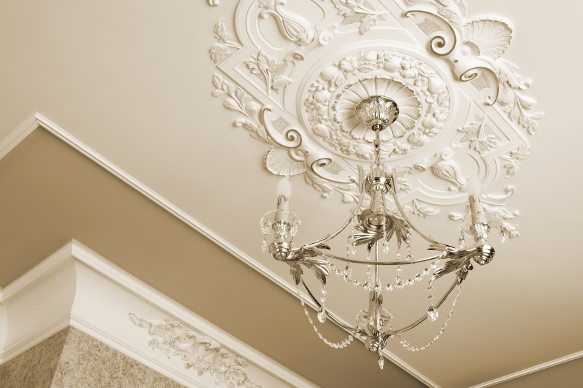 Dress up your lights with decorative ceiling medallions - Dress Up Your Lights With Decorative Ceiling Medallions - Official
