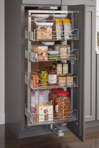Chrome Wire Pantry Swing