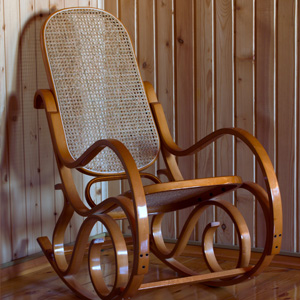 Wooden Rocking Chair Photo